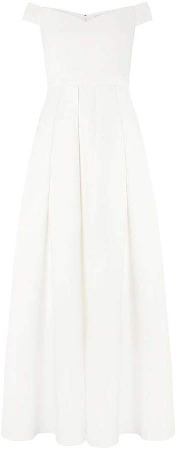 Showcase **White Bridal 'Valentina' Maxi Dress