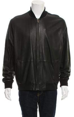 Façonnable Lambskin Leather Jacket