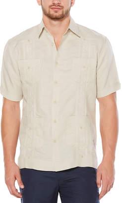 Cubavera Short Sleeve Embroidered Guayabera