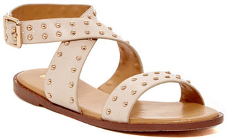 Report Linda Studded Sandal $70 thestylecure.com