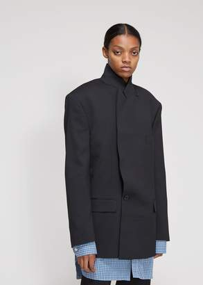 Vetements Oversized Double-Breasted Jacket