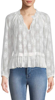 Rebecca Taylor Selina Embroidered Blouse