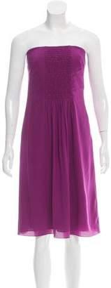 Akris Punto Silk Strapless Dress w/ Tags