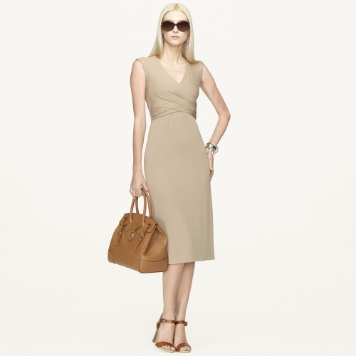 Ralph Lauren Black Label V-Neck Mariola Dress