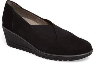 ara Hattie Slip-On Wedge