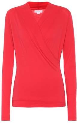 Velvet Meri stretch cotton jersey top