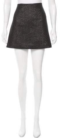 Trina Turk Glitter A-Line Skirt w/ Tags