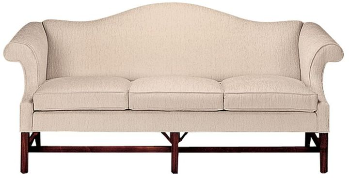 "Ethan Allen Chippendale sofa 80"""