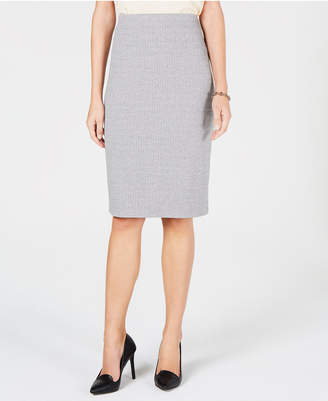Tommy Hilfiger Herringbone Pencil Skirt