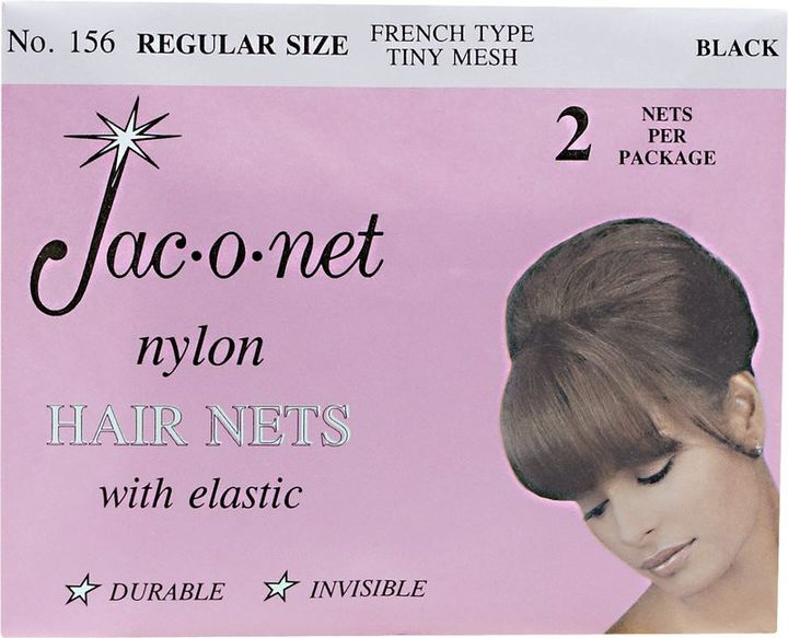 Jac-O-Net Black Regular Size Hairnet