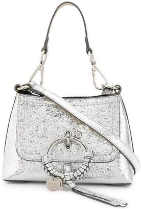See by Chloe logo charm shoulder bag
