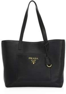 Prada Large Daino Leather Shopper