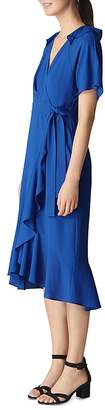 Whistles Abigail Ruffled Wrap Dress