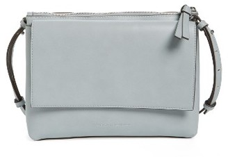 French Connection Callie Faux Leather Crossbody Bag - Grey $88 thestylecure.com