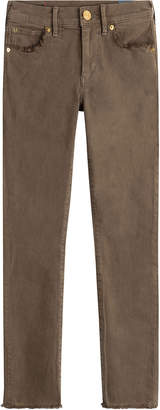 True Religion Skinny Jeans with Frayed Trims