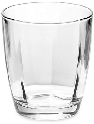 Vietri Optical Clear Double Old Fashioned Drinking Glass