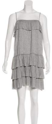 Haute Hippie Scoop Neck Knit Dress