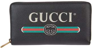 Gucci Leather Zip-Around Wallet