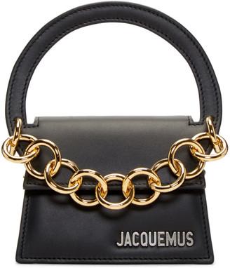 Jacquemus Black 'Le Petit Rond' Clutch $490 thestylecure.com