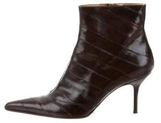 Dolce & Gabbana Eel Skin Booties
