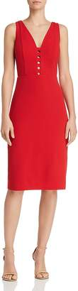 Laundry by Shelli Segal Caged Crepe Sheath Dress - 100% Exclusive