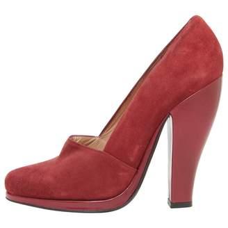 Robert Clergerie Burgundy Leather Heels