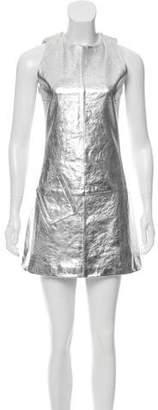 Rachel Zoe Leather Mini Dress