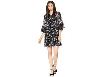 Juicy Couture Beverly Garden Color Block Dress Women's Dress
