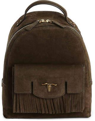 Polo Ralph Lauren Steer-Head Leather Backpack - Women's