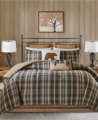 Woolrich Hadley Plaid Reversible 3-Pc. Twin Comforter Set Bedding