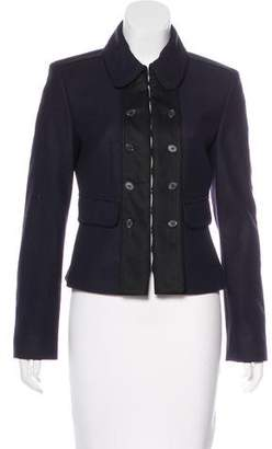 Strenesse Collared Virgin Wool Jacket