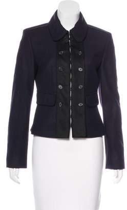 Strenesse Collared Virgin Wool Jacket