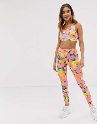 7a85687308c99 Juicy Couture Juicy By Juicy citrus print leggings