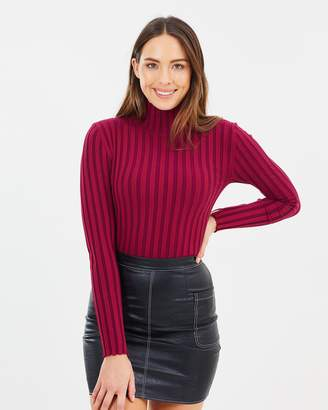 French Connection Two Tone Knit