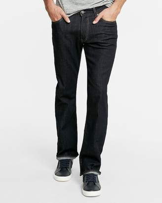 Express Classic Boot Dark Wash Stretch Jeans
