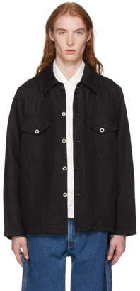 Our Legacy Black De Con Jacket Shirt
