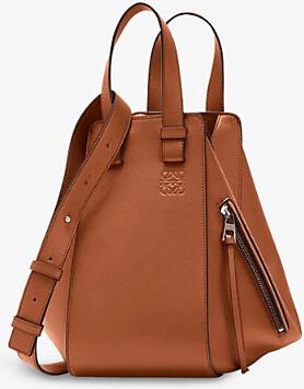Loewe Ladies Tan Hammock Leather Shoulder Bag