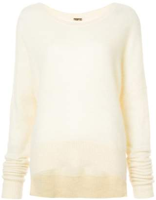ADAM by Adam Lippes high low hem jumper