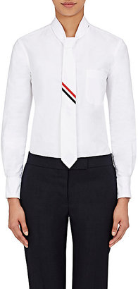 Thom Browne Women's Cotton Necktie Shirt $1,390 thestylecure.com