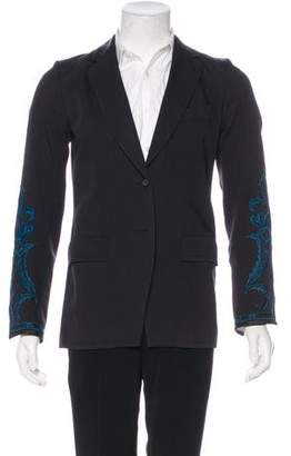 Dries Van Noten Embroidered Wool Blazer