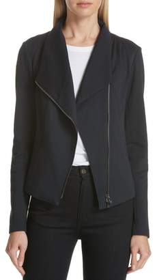 Nordstrom Signature High Collar Fitted Jacket