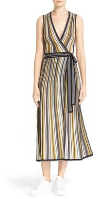 Women's Diane Von Furstenberg Cadenza Wrap Dress $428 thestylecure.com