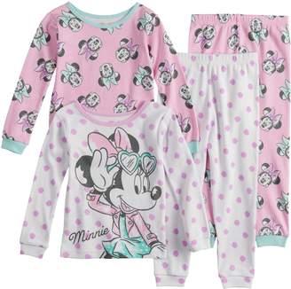 Disney Disney's Minnie Mouse Toddler Girl Top & Bottoms Pajama Set