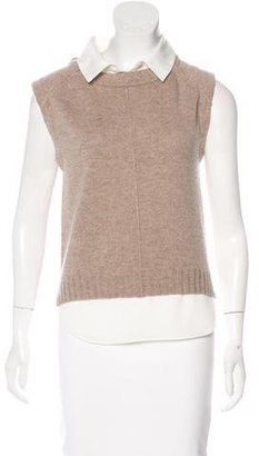 Brochu Walker Wool & Cashmere-Blend Top $150 thestylecure.com