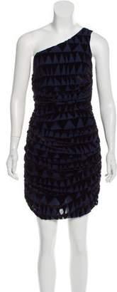 Mara Hoffman Velvet Patterned Dress