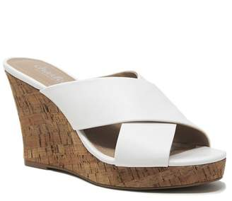 Charles by Charles David Latrice Cork Wedge Sandal