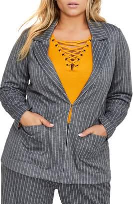 Michel Studio Yarn-Dye Stripe Jacket