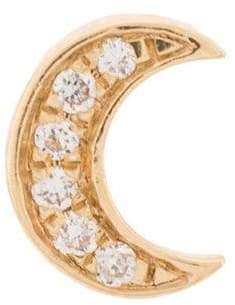 Loquet Diamond Moon ネックレス