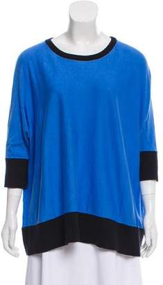 MICHAEL Michael Kors Knit Two-Tone Sweater