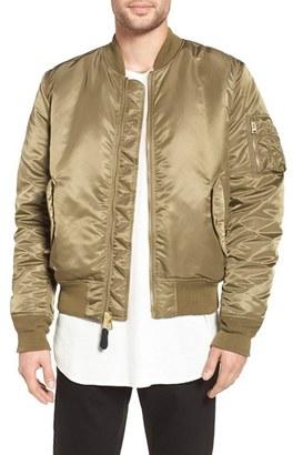 Men's Alpha Industries 'Ma-1' Slim Fit Bomber Jacket $140 thestylecure.com